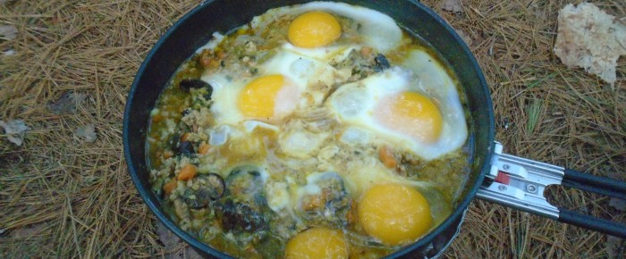 Breakfast Hash….with fresh eggs